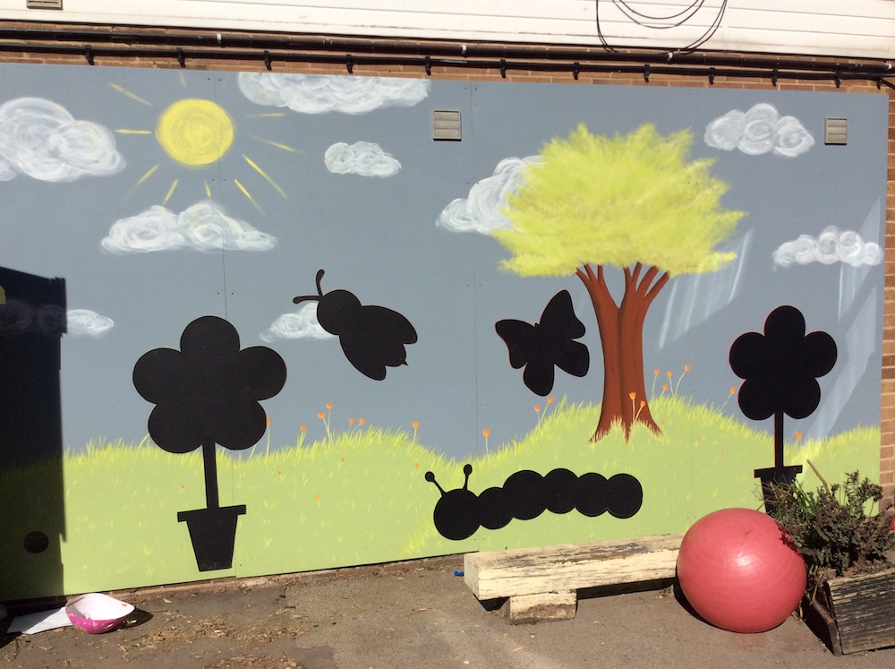 Rydale Children's Nursery outside play area
